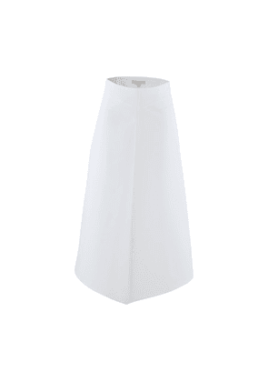 Long skirt in cotton