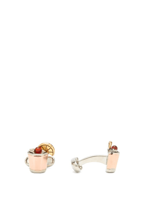 Paul Smith - Whiskey Sour Cufflinks - Mens - Gold Multi