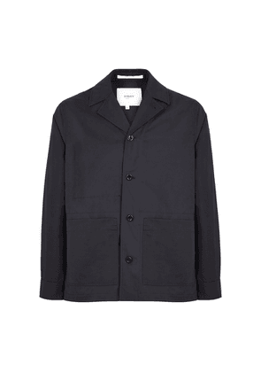 Norse Projects Mads Navy Cotton-blend Jacket