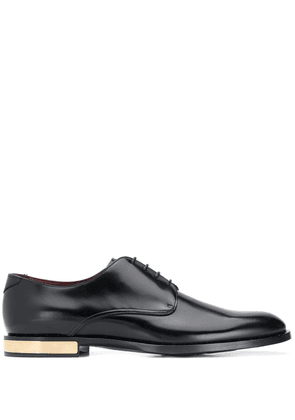Dolce & Gabbana gold-tone derby shoes - Black