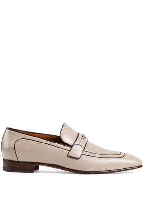 Gucci Interlocking G Horsebit loafers - NEUTRALS