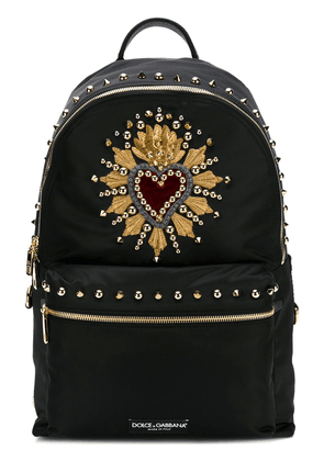 Dolce & Gabbana stud embellished backpack - Black