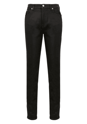 Gucci slim leather trousers - Black