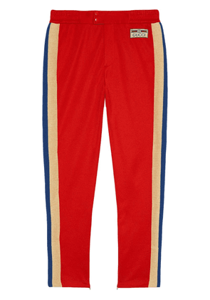 Gucci side-stripe track pants - Red