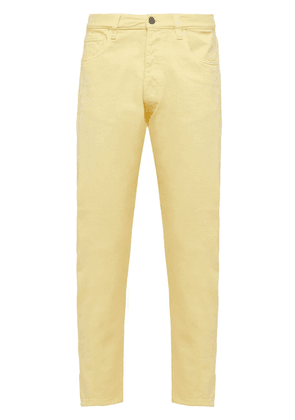 Prada straight-leg jeans - Yellow