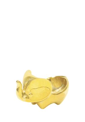 Brass Elephant Bowl