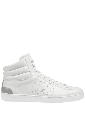 Gucci Ace high-top sneakers - White