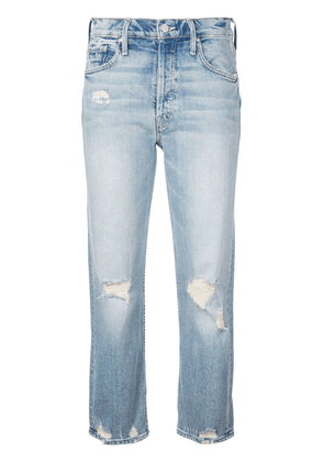 Mother Tomcat cropped jeans - Blue