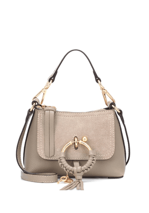 Joan Mini leather shoulder bag