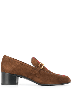 Gucci Lubbock convertible loafer pumps - Brown