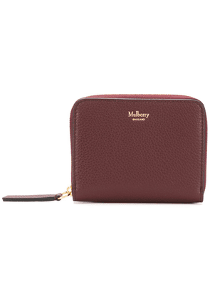 Mulberry grained leather wallet - Red