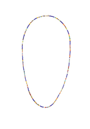 Luis Morais - Beaded 14kt Gold-spacer Necklace - Mens - Gold Multi