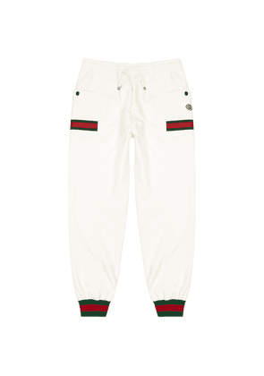 Gucci Ivory Cotton Sweatpants