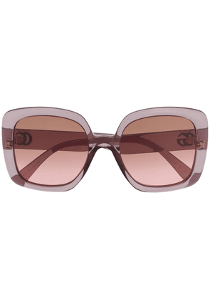 Gucci Injection square-frame sunglasses - Grey