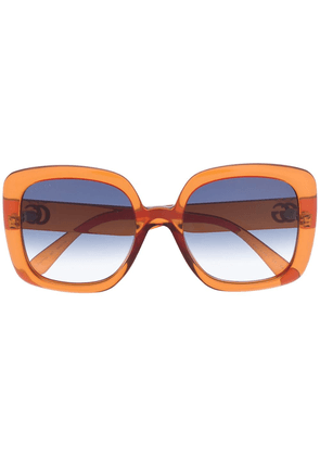 Gucci Injection square-frame sunglasses - Brown