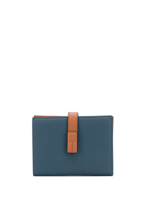 Loewe foldover leather wallet - Blue