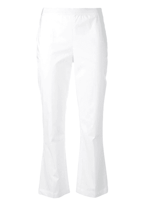Twin-Set cropped trousers - White