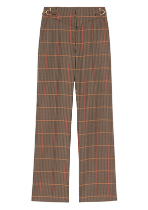 Burberry houndstooth tailored trousers - Neutrals