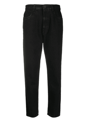 Prada tapered leg denim jeans - Black