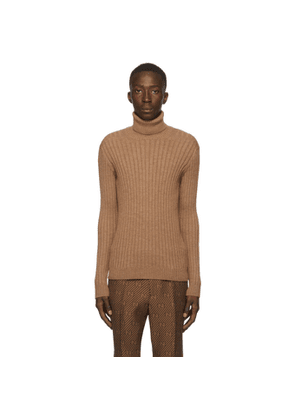 Gucci Brown Alpaca and Wool Turtleneck