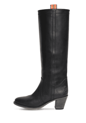65mm Leather Tall Boots