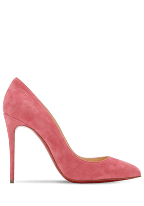 100mm Pigalle Folies Suede Pumps