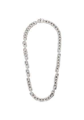 Bottega Veneta Silver Large Chain Necklace