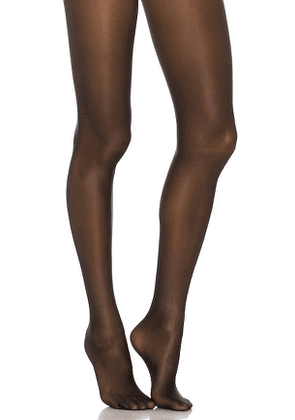 Wolford Neon 40 Tights in Black. Size S.