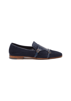 Julian double monk strap loafers
