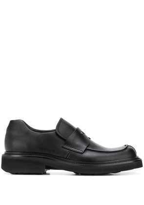 Prada square-toe loafers - Black