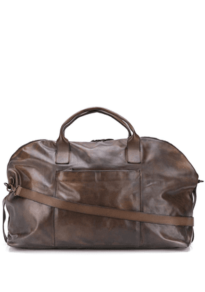 Eleventy top-handle holdall - Brown