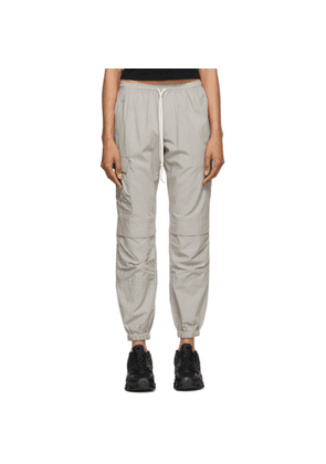 John Elliott Grey Poplin Lounge Pants