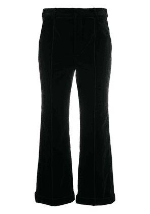 Saint Laurent cropped trousers - Black