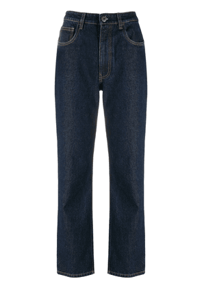 Prada cropped straight-leg jeans - Blue