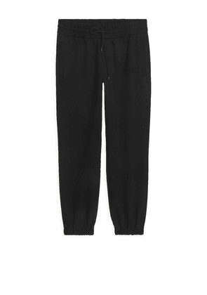 Organic Cotton Sweatpants - Black