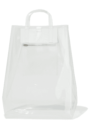 Acne Studios Baker Leather-trimmed Pvc Tote Woman Clear Size --