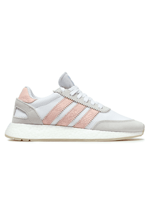 Adidas Originals I-5923 Ribbed-knit Sneakers Woman White Size 4