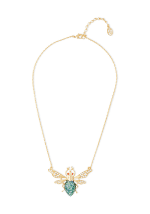 Ben-amun 24-karat Gold-plated, Swarovski Crystal And Stone Necklace Woman Gold Size --