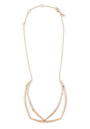 Alexis Bittar Rose Gold-tone Necklace Woman Rose Gold Size --