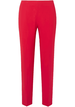 Antonio Berardi Stretch-cady Slim-leg Pants Woman Red Size 46