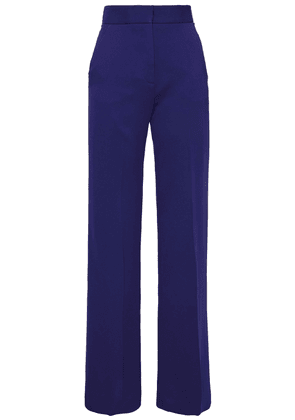 Antonio Berardi Crepe Flared Pants Woman Indigo Size 40
