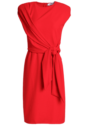 Chalayan Wrap-effect Knotted Crepe Dress Woman Red Size 40