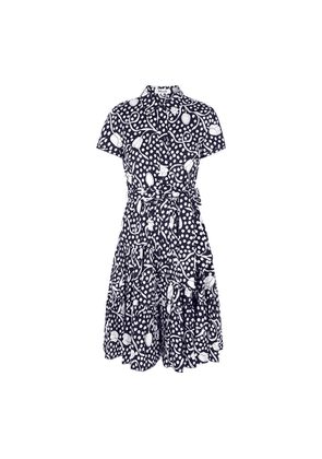Diane Von Furstenberg Zaria Printed Cotton Midi Dress