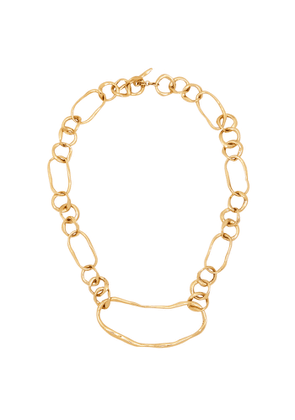 Cornelia Webb Distorted 24kt Gold-plated Necklace