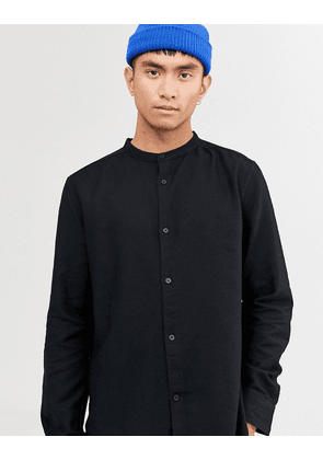 Weekday Hero structure shirt in black