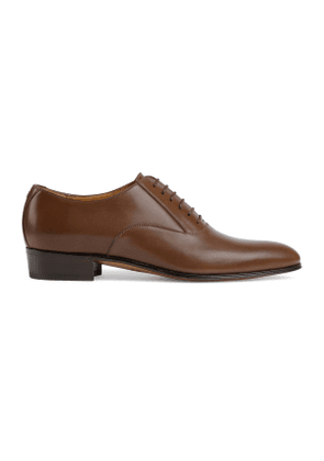 Men's lace-up shoe with Double G