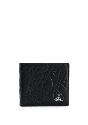 Vivienne Westwood embossed billfold wallet - Black