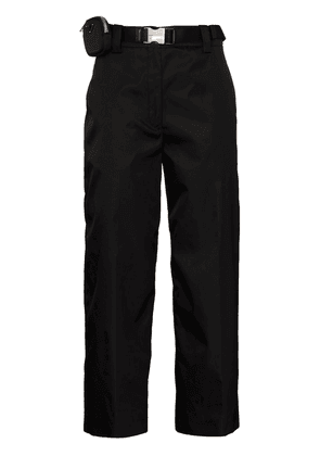 Prada Gabardine straight leg trousers - Black