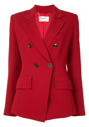 Ginger & Smart Equinox double-breasted blazer - Red