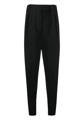 Haider Ackermann tailored tapered trousers - Black